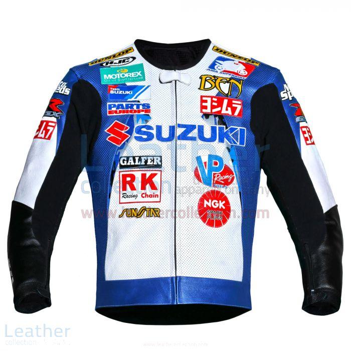 Ben Spies Suzuki Leather Jacket 2006 AMA front view
