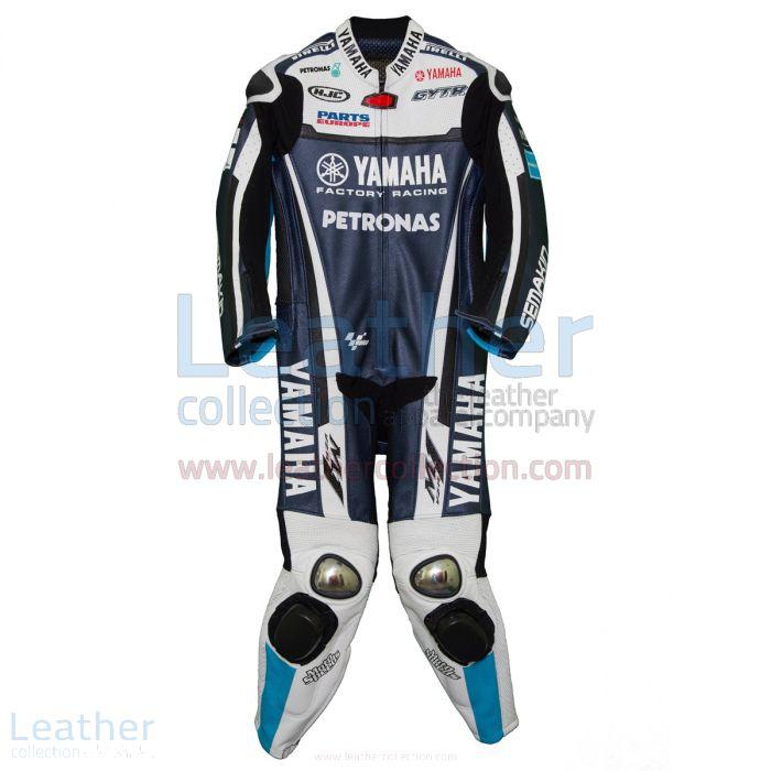 Ben Spies Yamaha 2011 MotoGP Leathers front view