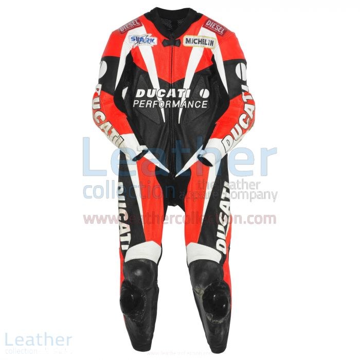 Carl Fogarty Ducati Cuirs WSBK 1998 Vue de Face
