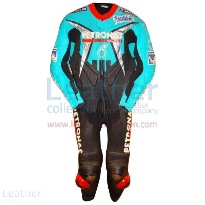 Carl Fogarty Petronas Replica Racing Leathers 2002 WSBK front view