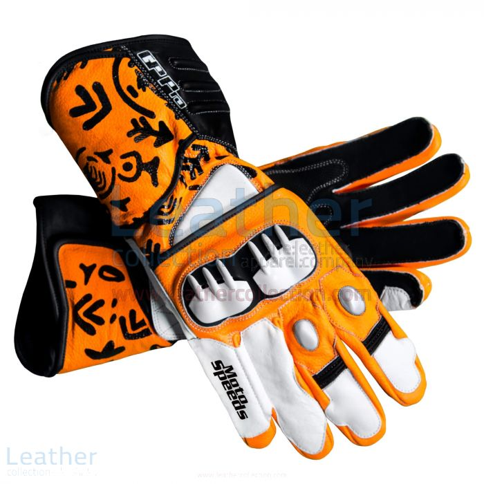 Casey Stoner 2012 Motogp Race Gloves upper view