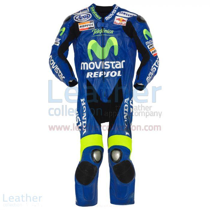 Dani Pedrosa Movistar Honda Cuirs GP 2005 Vue de Face