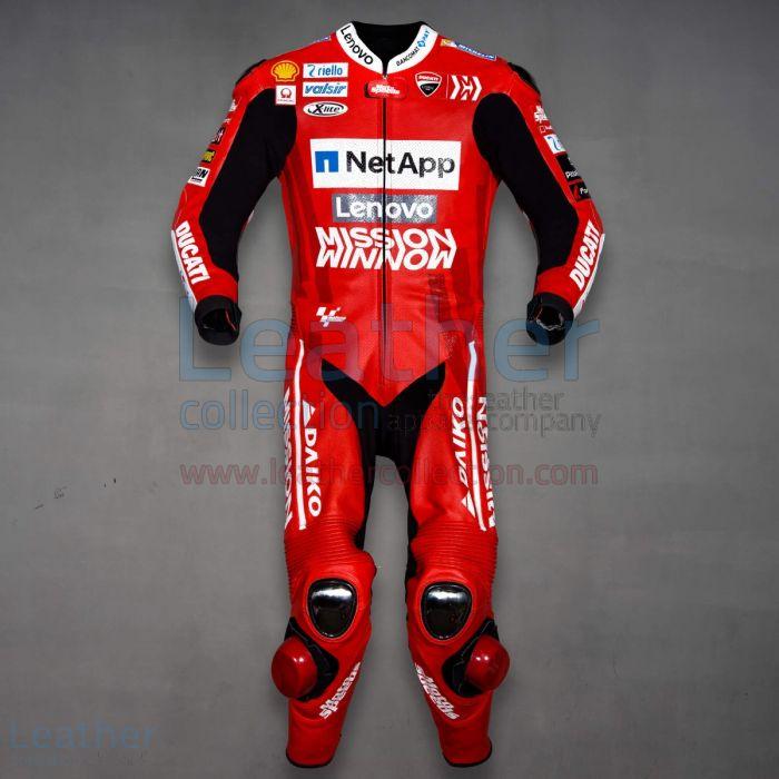 Danilo Petrucci Ducati MotoGP 2019 Suit front view