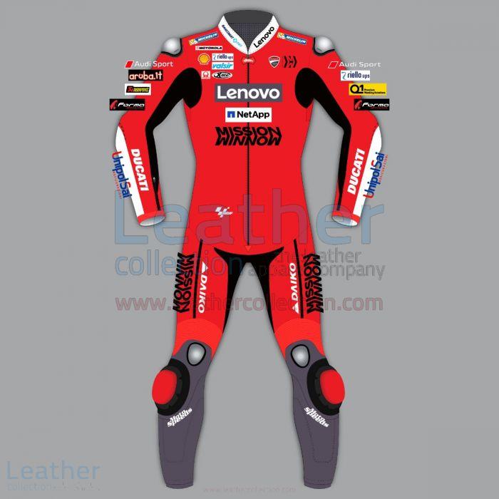 Danilo Petrucci Ducati Race Suit MotoGP 2020 front view