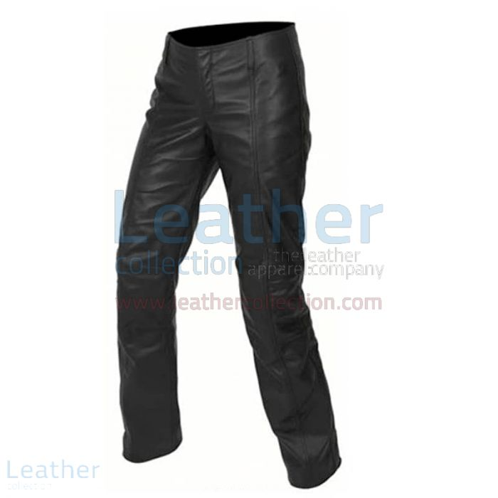 Fashion Leather Pants front view