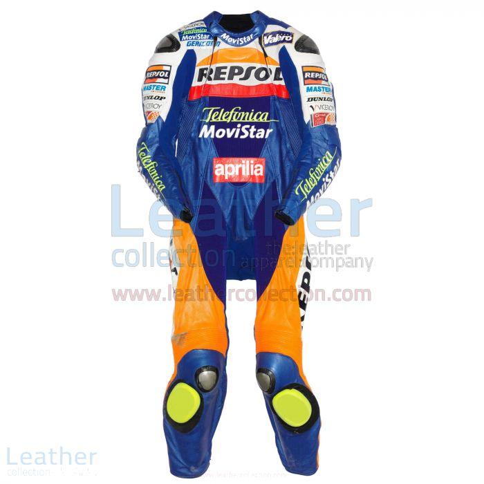 Fonsi Nieto Aprilia GP 2003 Leather Suit front view
