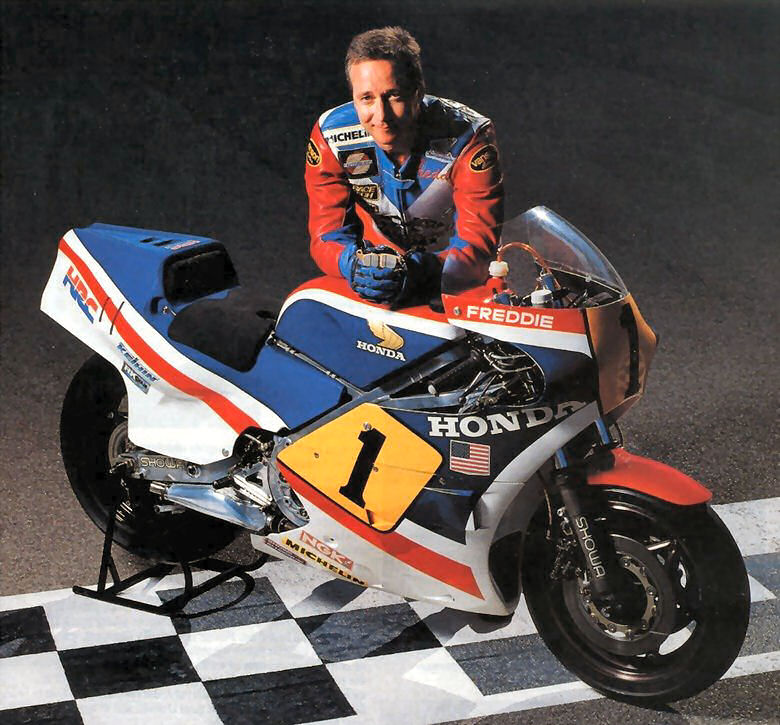 Freddie Spencer Riders - Fast Freddie, Former world champion motorcycle racer