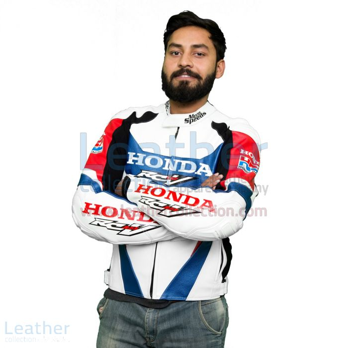 Honda RCV213 2016 Racing Leather jacket front view
