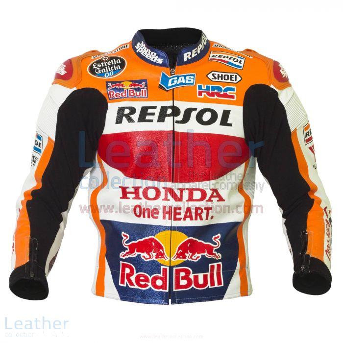 Honda Repsol 2015 Marc Marquez Jacke front