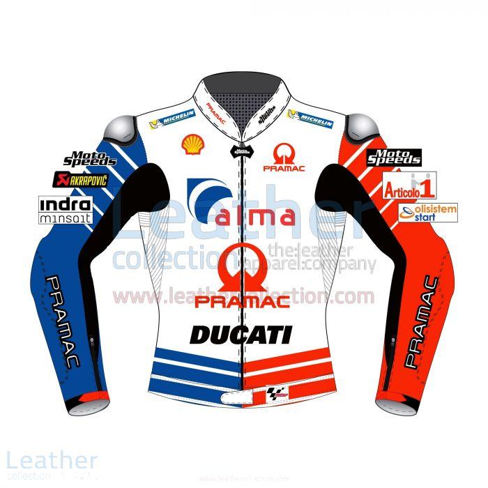 Jack Miller Ducati MotoGP 2019 Racing Jacket front view