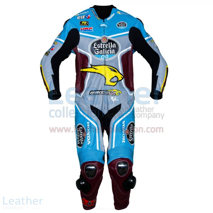 Jack Miller Estrella Galicia Honda 2017 MotoGP Race Suit front view