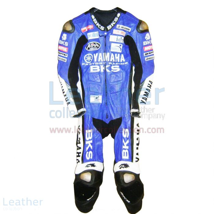 James Toseland Yamaha GP Leathers front view