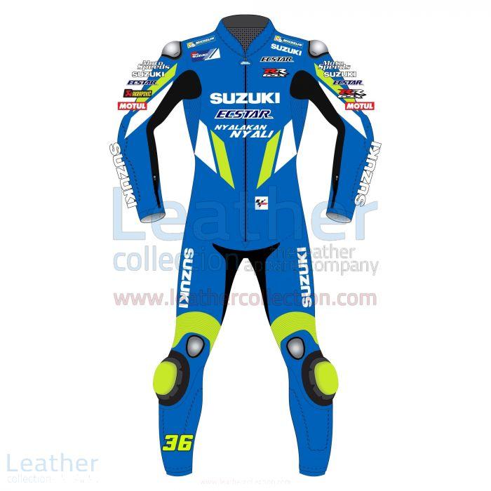 Joan Mir Suzuki MotoGP 2019 Suit front view