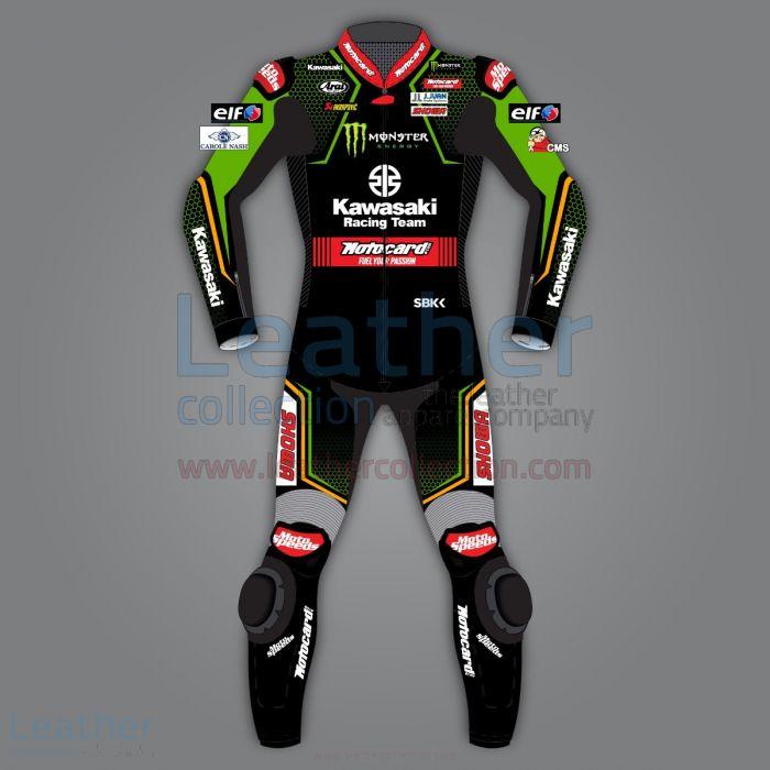Jonathan Rea Kawasaki WSBK 2020 Racing Suit front view