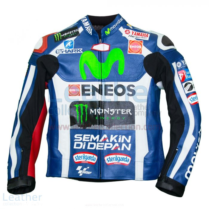 Jorge Lorenzo Movistar Yamaha 2016 MotoGP Race Jacket front view