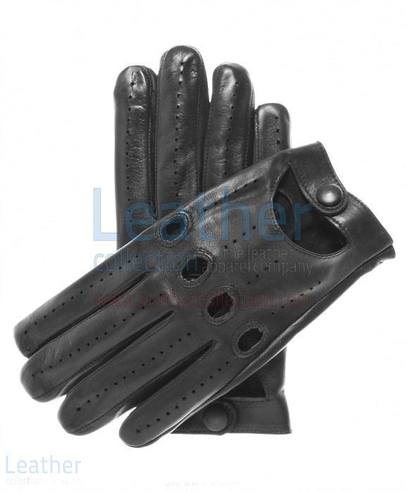 Gants de Conduite cuir Noir Homme