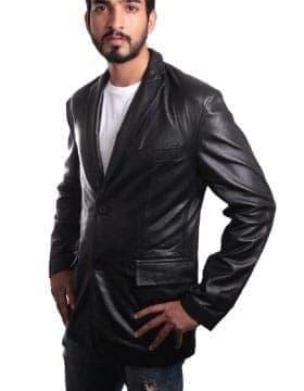 Manteaux Hommes - Blazer Cuir Homme - Acheter Maintenant Pour Le Prix Modeste | Leather Collection