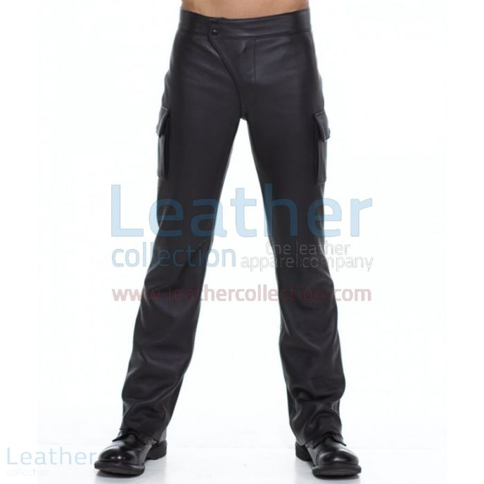 Leather Boston Pants front view