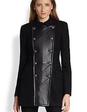 Coats For Women - Pea Coats For Women Buy Online | Leather Collection