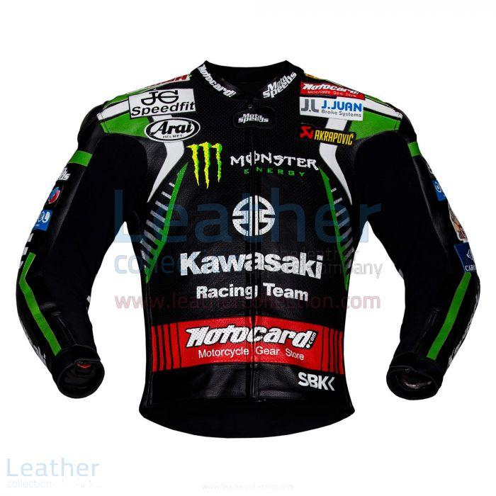 Leon Haslam Kawasaki Monster WSBK 2019 Jacket front view