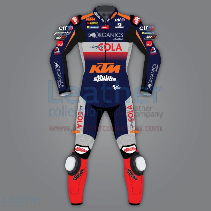 Miguel Oliveira KTM Leather Race Suit MotoGP 2020 front view