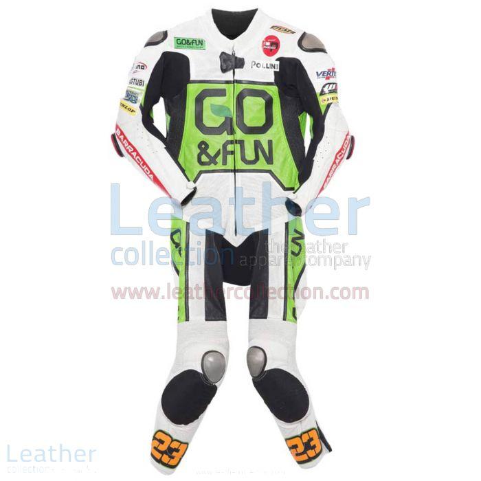 Niccolo Antonelli 2014 Moto3 Motorbike Suit front view