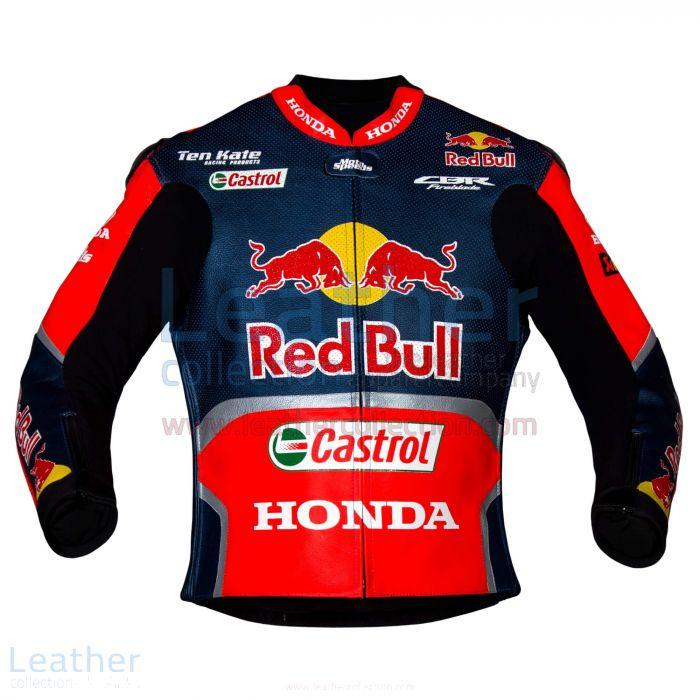 Nicky Hayden Red Bull Honda WSBK 2017 Race Jacket front view
