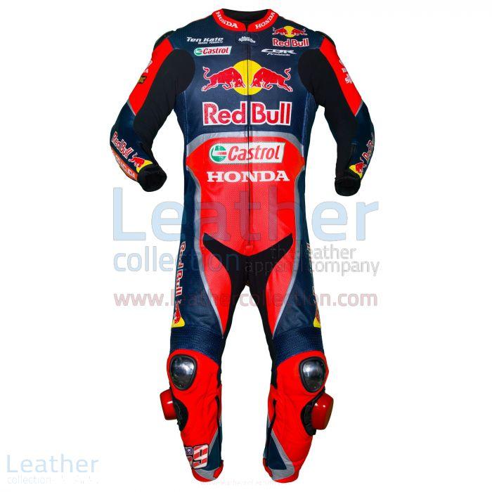 Nicky Hayden Red Bull Costume Honda WSBK 2017 Vue de Face