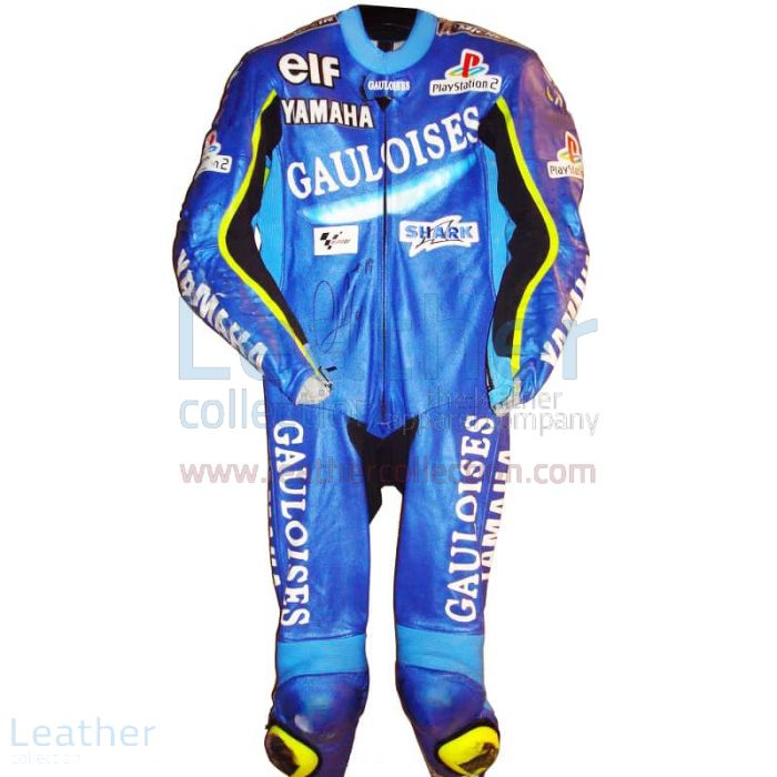 Olivier Jacque Yamaha GP 2002 Racing Leathers front view