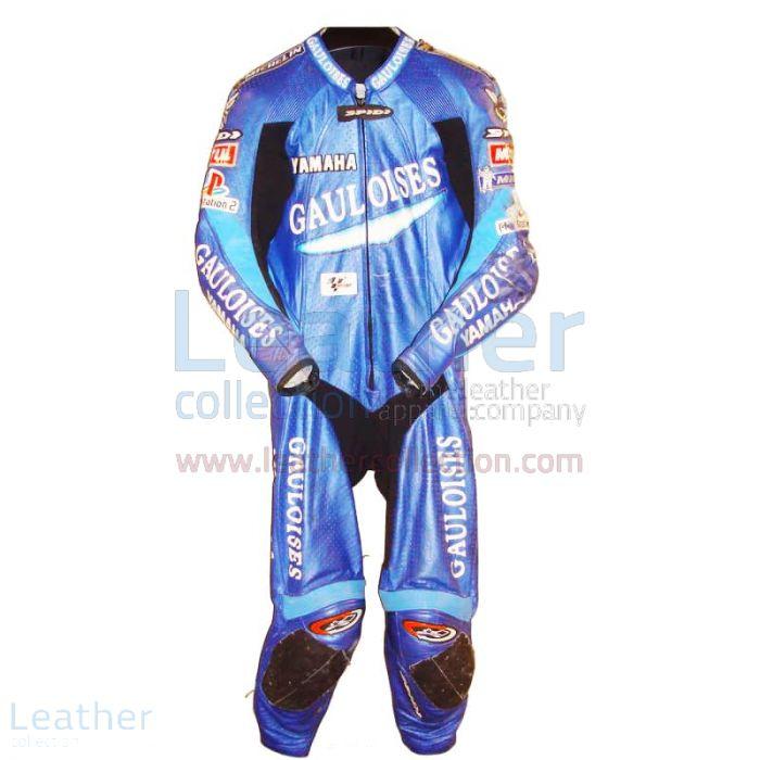Olivier Jacque Yamaha Costume de Course GP 2003 Vue de Face