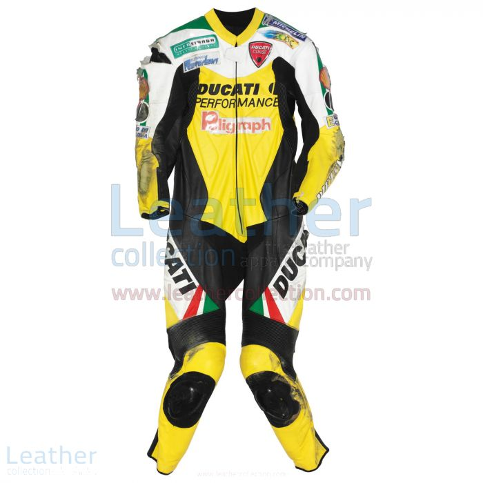 Paolo Casoli Ducati Costume AMA Supersport 1999 Vue de Face