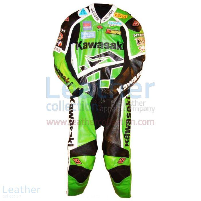 Régis Laconi Kawasaki WSBK 2008 Racing Suit front view