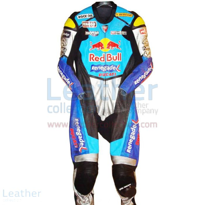 Sean Emmett Red Bull Ducati WSBK 2003 Race Suit front view