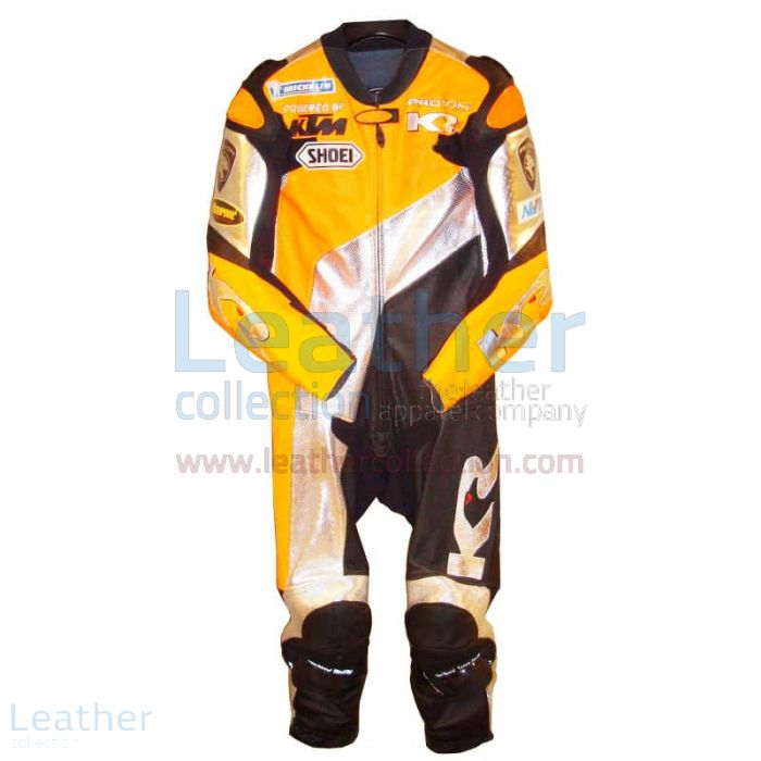 Shane Byrne KTM GP 2005 Leathers front view