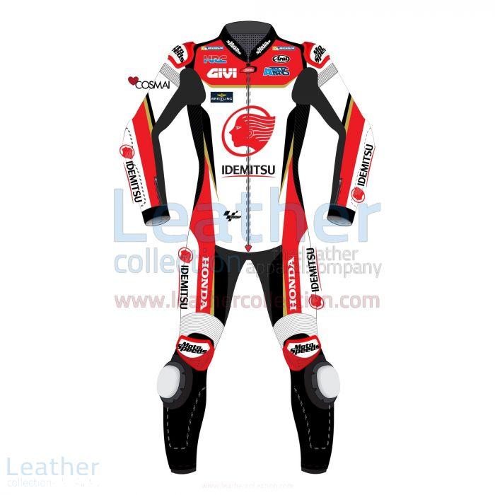 Takaaki Nakagami MotoGP 2019 Combinaison de Course LCR Honda Vue De Face