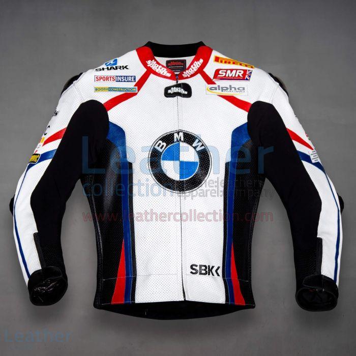 Tom Sykes BMW Motorrad WSBK 2019 Leather Jacket front view