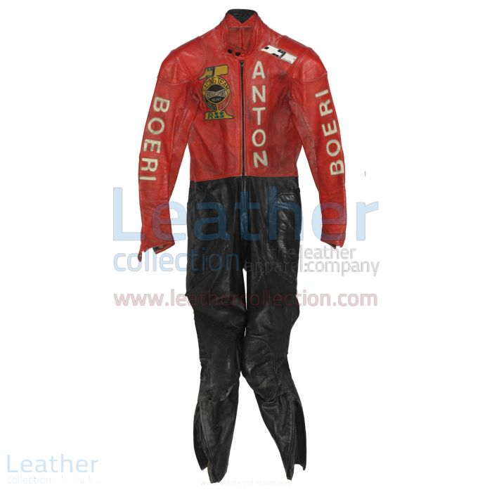 Toni Mang Kawasaki GP 1980 Racing Suit front view