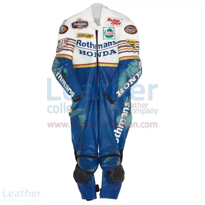 Toni Mang Rothmans Honda GP 1987 Racing Suit front view