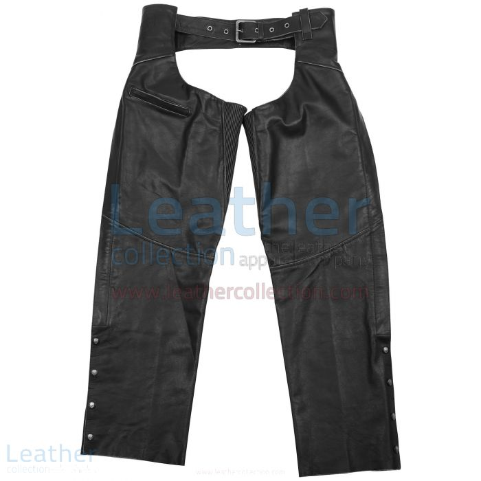 Torque Leather Chaps front view