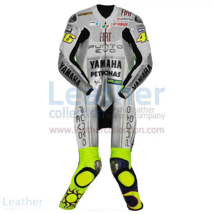 Valentino Rossi Yamaha Fiat 2009 Racing Suit front view