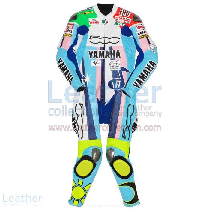 Valentino Rossi Yamaha Fiat 500 Costume MotoGP 2007 Vue de Face
