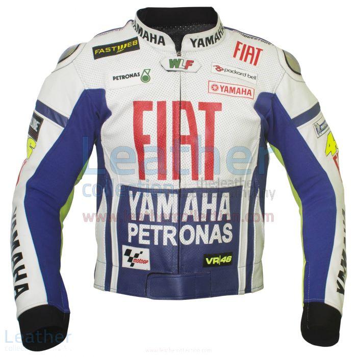 Valentino Rossi Petronas Veste de Moto Yamaha Vue de Face