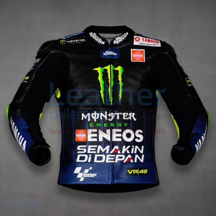 Valentino Rossi Yamaha Monster MotoGP 2019 Jacket front view