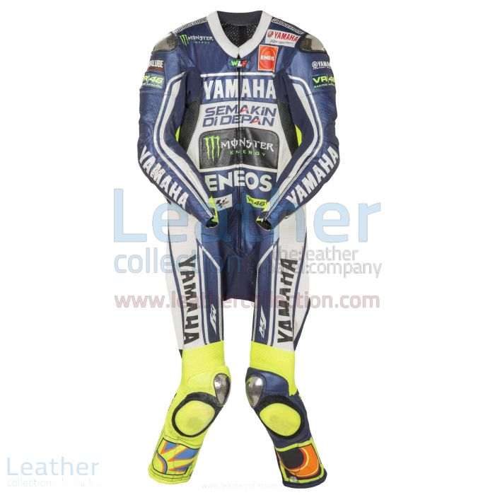 Valentino Rossi Yamaha MotoGP 2013 Suit front view