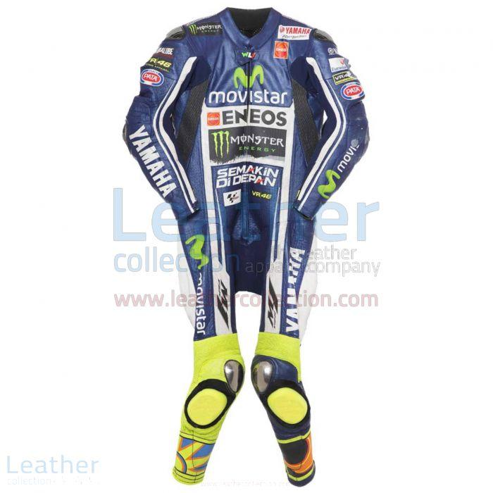 Valentino Rossi Yamaha MotoGP 2014 Race Suit front view