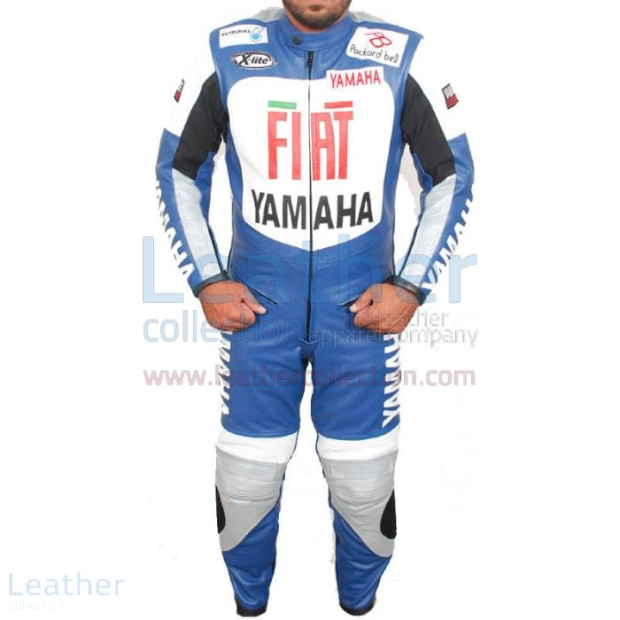 Yamaha FIAT Motorcycle Racing Leather Suit