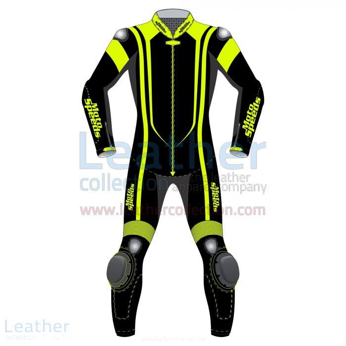 Motorrad Schutzkleidung | Alpha Neon Leder Motorradanzug