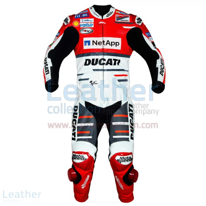 Order Online Andrea Dovizioso Ducati MotoGP 2018 Leather Suit for A$1,