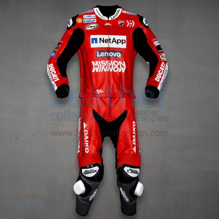 Shop Andrea Dovizioso Ducati MotoGP 2019 Suit | Riding Suit