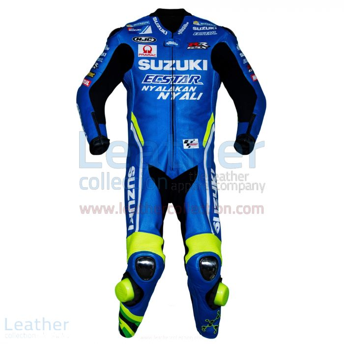 Claim Online Andrea Iannone Suzuki MotoGP 2018 Leather Suit for SEK7,9